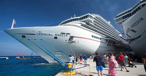 Carnival Breeze Cruise Ship Emerges From Dry Dock With New
