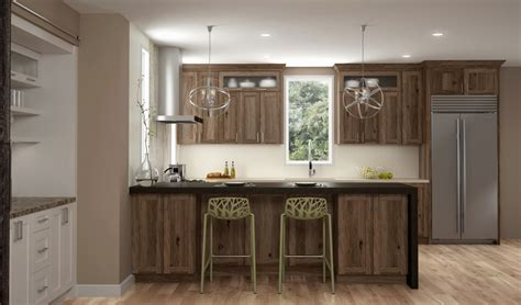 Durasupreme Cabinets by Rustic Hickory Cabinets Dura Supreme Cabinetry New