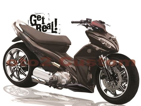 Modif Skotlet Yamaha Jupiter Mx 135 2010 by Koleksi Modifikasi Motor Jupiter Z 2008 Warna Merah