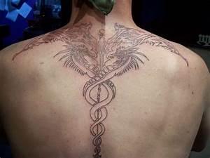 Caduceus tattoo
