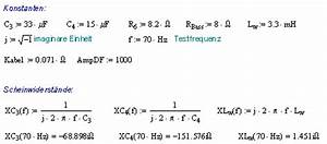 Innenwiderstand Berechnen : zusammenhang d mpfungsfaktor innenwiderstand kabel und frequenzweiche ~ Themetempest.com Abrechnung