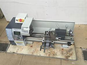 2018 Newest 850w Variable Speed Mini Metal Lathe Machine ...