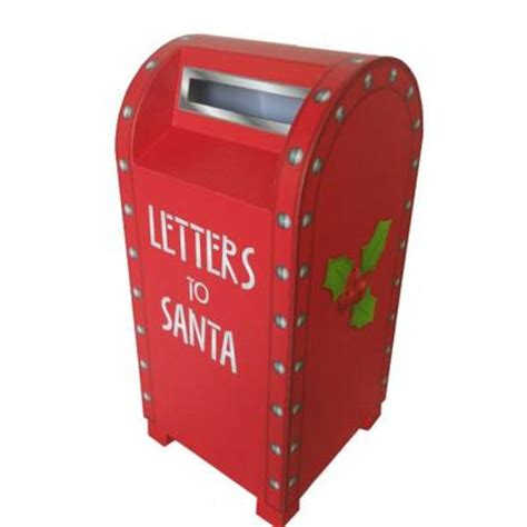 letters to santa mailbox home accents 15 in letters to santa mailbox z0115 23421