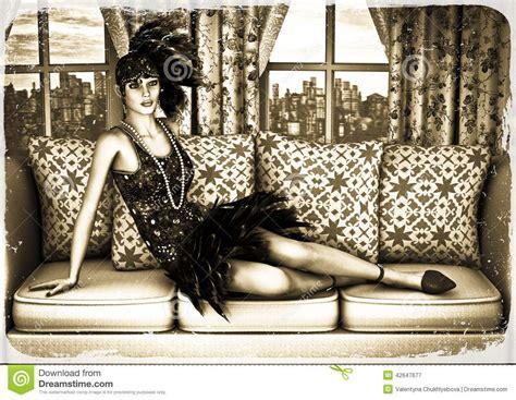 Roaring Twenties Stock Illustration