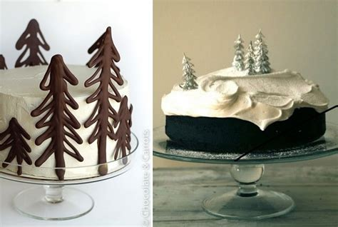 Crown Decor Centre by Chic Christmas Cake Decorating Cake Geek Magazine