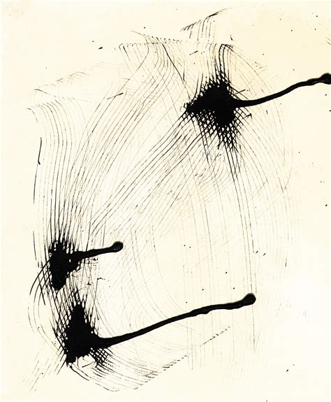 Abstract Black Ink by Black And White Abstract Ink Graphic Contemporary