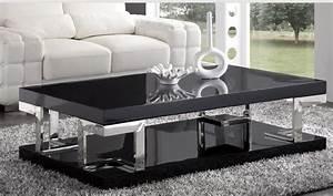 Table Basse Moderne Pas Cher : table basse pas cher et originale le bois chez vous ~ Teatrodelosmanantiales.com Idées de Décoration
