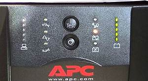 Apc Smart-ups 750 On Battery Operation Test