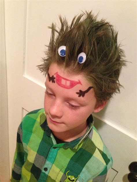 Wacky Hairstyles For by Great Hairstyles For Quot Wacky Hair Day Quot At School