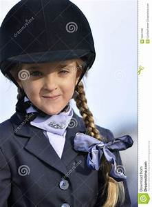 Young Girl In Equestrian Outfit Stock Photo - Image 16257590