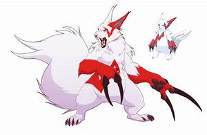 Zangoose- Nothin' but claws by blueharuka on DeviantArt