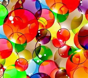 Colorful Bubbles - 3D and CG & Abstract Background ...