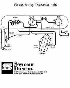 66 Telecaster Wiring Diagram  Seymour Duncan