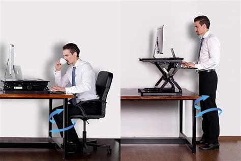 how to use a standing desk how can sit stand desks help with arthritis chronic