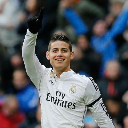 * see our coverage note. James Rodriguez