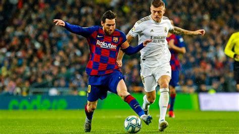 Qué canal transmite Barcelona vs Real Madrid por TV ...