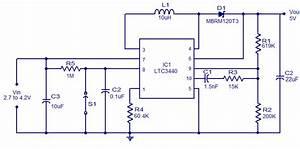 Ltc3440 5v Boost Converter Circuit