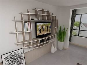impressive design of wall shelves tv units for living room With shelving designs for living room