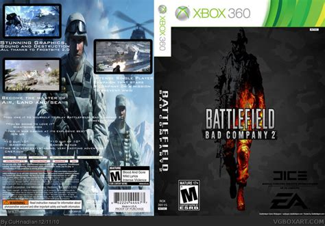 battlefield bad company  xbox  box art cover  cuhnadian