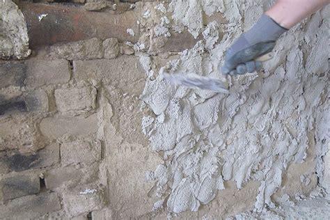 Sandstein Verputzen Aussen by Innenwand Mit Sanierputz Verputzen Anleitung Und Tipps