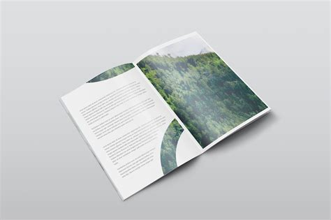 Download open folder mockup psd. Free A4 PSD Magazine Mockup Isometric View - CreativeBooster