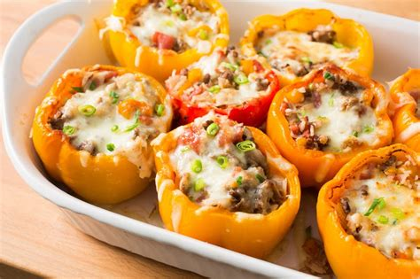 how to make stuffed peppers how to make stuffed peppers kitchn