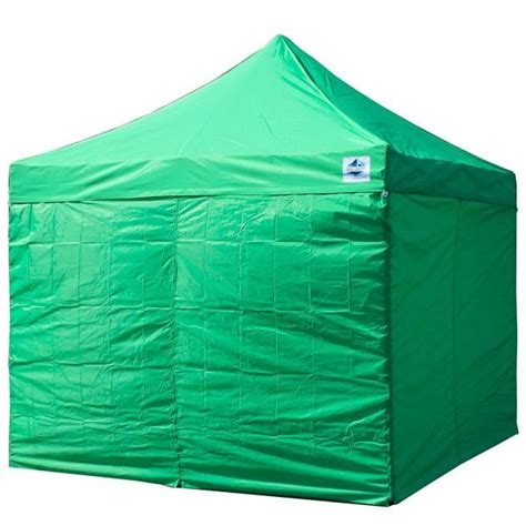 king canopy universal instant  ft   ft side walls green  piece inaswpgr  home