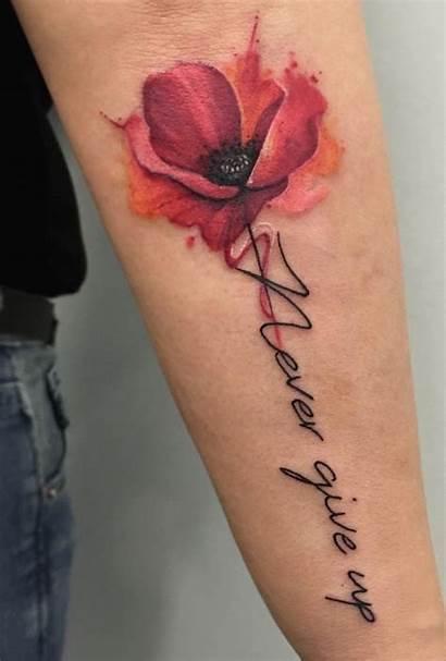 Tattoo Watercolor Poppy Tattoos Poppies Flower Tatuaggi