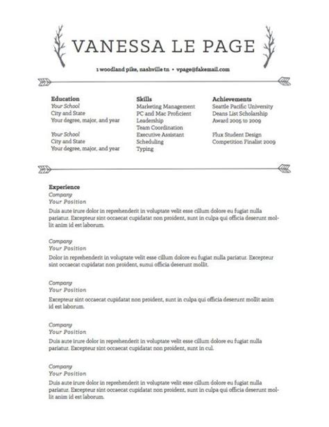 Career Achievements In Resume by Resume Templates To Highlight Your Accomplishments Resume