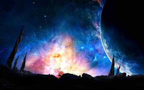 The Galaxy Background Galaxy Wallpaper Awesome Collections