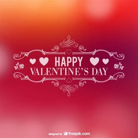 Happy valentine's day | Free Vector
