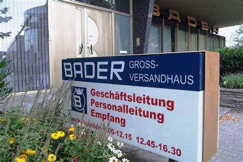 www bader de kundenkonto bader versand versandhaus bader ihre shoppingwelt