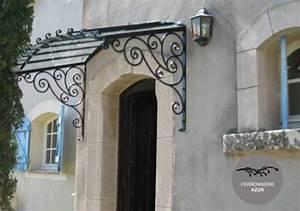 Marquise De Porte Ancienne : fabrication marquise porte d 39 entr e saint tropez var 83 ~ Dailycaller-alerts.com Idées de Décoration