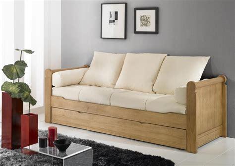 canapé lit pas cher conforama canape en bois pas cher mzaol com