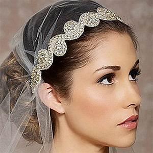 1, Pc, Fashion, Women, Wedding, Hair, Accessories, Bride, Crystal, Silk, Ribbon, Romantic, Headband, Girls