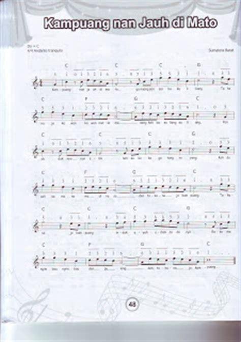 notasi angka lagu apuse drawan kabul priyono yayasan pelangi nusa not balok dan