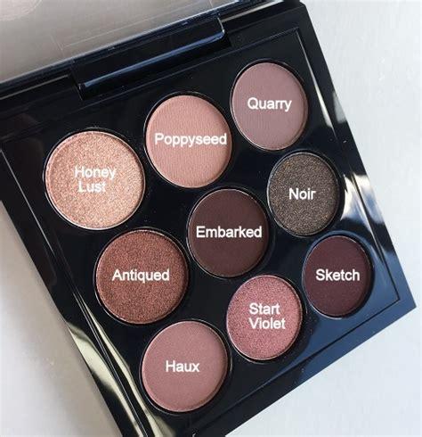 mac burgundy times  eyeshadow palette   sisters