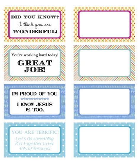 Note Card Template Futuristic Vision Printable Blank Flash Free Printables From Heavenly Homemakers