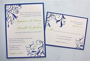excellent royal blue wedding invitations theruntimecom With free printable wedding invitations royal blue