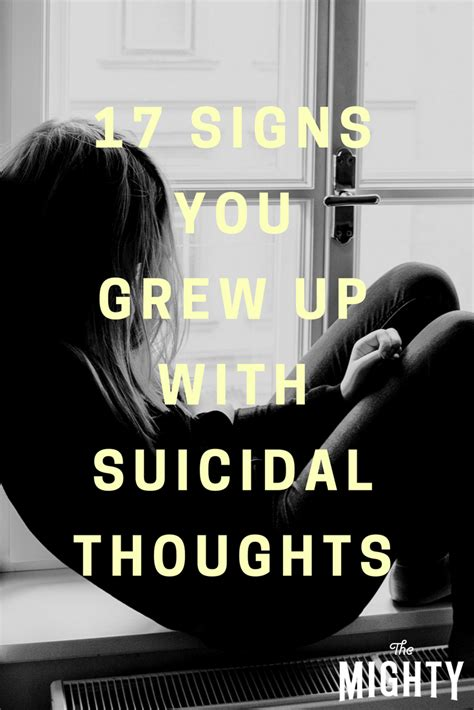 17 Signs You Grew Up With Suicidal Thoughts  The Mighty. Best Mattress Pad For Memory Foam Mattress. Touch Screen Solutions Llc Make Andriod Apps. Car Donation Write Off Norstar Mortgage Group. Moving Internationally Shipping. Top Internet Marketing Blogs. Internet Service Raleigh Fastest Sql Database. Car Dealerships In Benton Arkansas. Wells Fargo Debit Card Services