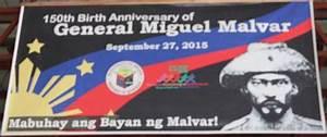 Malvar Celebrates 150th Birth Anniversary of Gen. Miguel ...