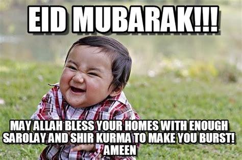 Eid Mubarak Meme - eid mubarak evil kid meme on memegen