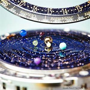 This watch accurately shows the solar system's movements ...