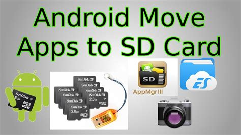 android   move apps  sd card  save