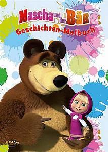 Bettwäsche Mascha Und Der Bär : mascha und der b r geschichten malbuch buch portofrei bestellen ~ Buech-reservation.com Haus und Dekorationen