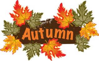 Fall Leaves Banner Clip Art