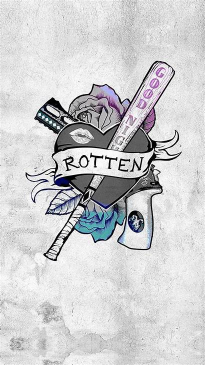 Quinn Harley Suicide Squad Illustration Iphone Logp