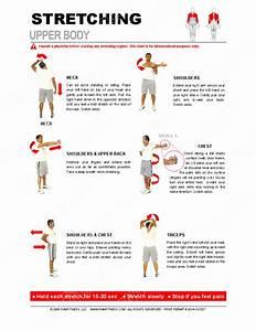 Upper Body Stretching Guide