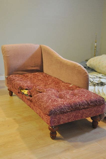 Reupholster Furniture by Reupholstering A Chaise Inspiraitonal Upholstery