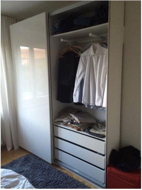 Slim Wardrobe With Shelves by Slim Wardrobe Almost New Ikea Pax Hasvik Furniture In